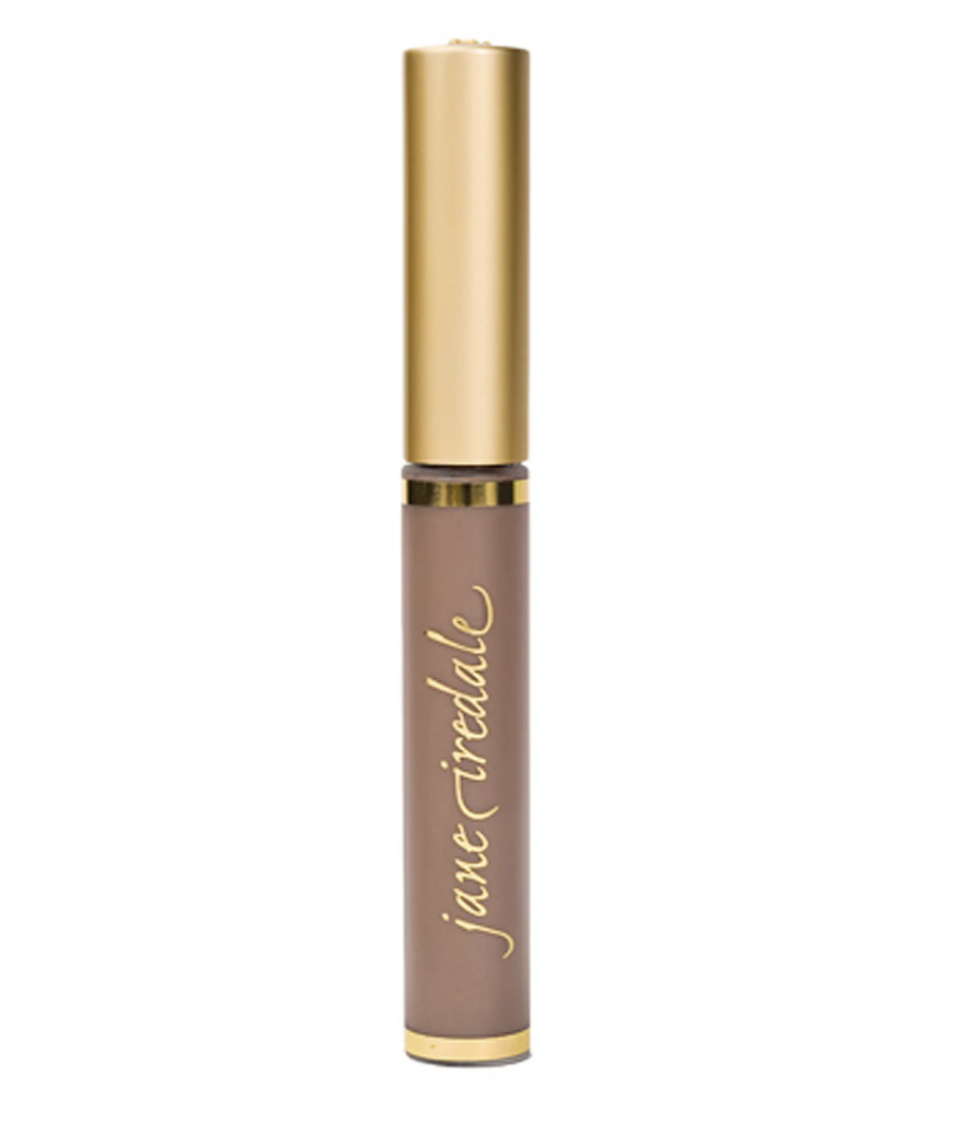 """<p><strong>Jane Iredale</strong></p><p>dermstore.com</p><p><strong>$24.00</strong></p><p><a href=""""https://go.redirectingat.com?id=74968X1596630&url=https%3A%2F%2Fwww.dermstore.com%2Fjane-iredale-purebrow-brow-gel-4.8g-various-shades%2F11454171.html&sref=https%3A%2F%2Fwww.goodhousekeeping.com%2Fbeauty-products%2Fg37136134%2Fbest-eyebrow-gels%2F"""" rel=""""nofollow noopener"""" target=""""_blank"""" data-ylk=""""slk:Shop Now"""" class=""""link rapid-noclick-resp"""">Shop Now</a></p><p>This <a href=""""https://go.redirectingat.com?id=74968X1596630&url=https%3A%2F%2Fwww.dermstore.com%2F&sref=https%3A%2F%2Fwww.goodhousekeeping.com%2Fbeauty-products%2Fg37136134%2Fbest-eyebrow-gels%2F"""" rel=""""nofollow noopener"""" target=""""_blank"""" data-ylk=""""slk:Dermstore"""" class=""""link rapid-noclick-resp"""">Dermstore</a> best-seller from Jane Iredale is<strong> tinted in three shades to help cover even gray brow hairs</strong>. """"Adds depth to my brow color and keeps my unruly strands in place,"""" a reviewer reported. </p>"""