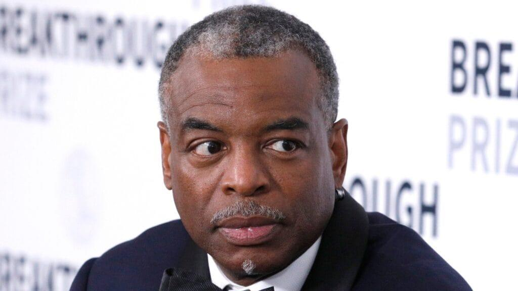 """In his own unique manner, LeVar Burton (above) pushed back against conservative """"The View"""" hostess Meghan McCain, asking him about what's being called """"cancel culture."""" (Photo by Kimberly White/Getty Images for Breakthrough Prize)"""
