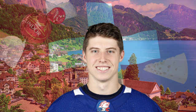 Can't wait to see Mitch Marner in a Zurich Lions jersey next season. (Sarah Jenkins/Yahoo Sports Canada)