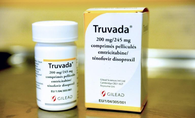 A box of the anti-retroviral drug Truvada, the first ever daily pill to help prevent HIV infections