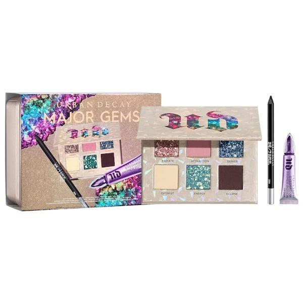 <p>It's not full of <em>actual</em> jewels but this <span>Urban Decay Stoned Vibes Major Gems Gift Set</span> ($49) still sparkles brightly.</p>