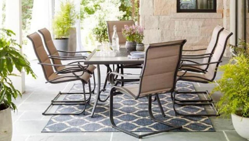 Top-rated patio furniture is majorly marked down at Kohl's right now
