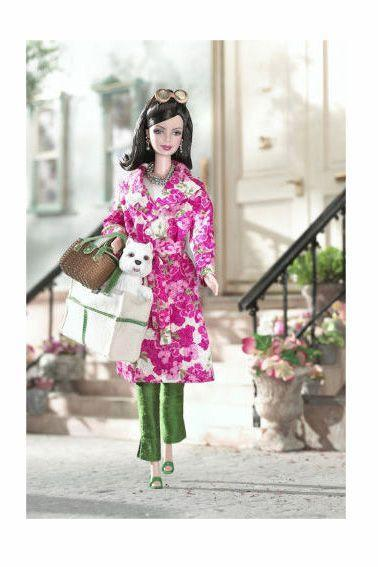 <p>Another designer collaboration out of many, 2003's Kate Spade Barbie has an enviable wardrobe and adorable accessories (like a sweet little pooch). </p>