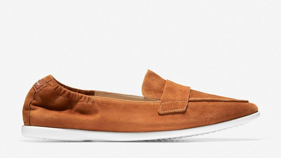 Whether you're going back to the office or staying home, these shoes could be a lightweight, casual fit.