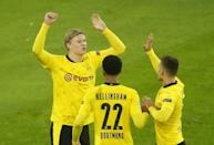 Erling Braut Haaland's goal record is astonishing: the Norwegian has 16 Champions League goals in just 12 appearances