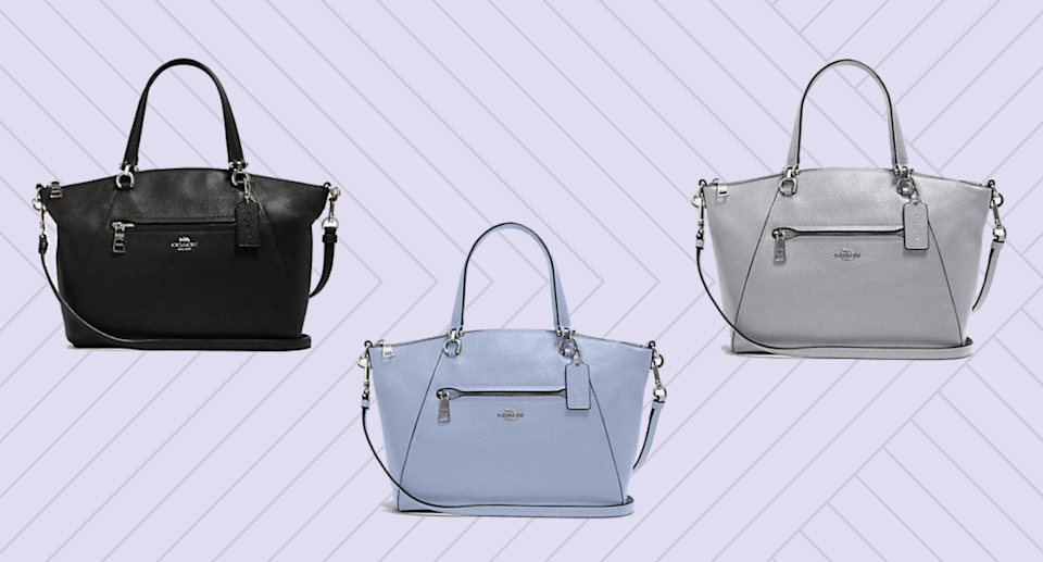 The Coach Prairie Satchel is a must-have style for fall, and it's on sale for up to 70% off.