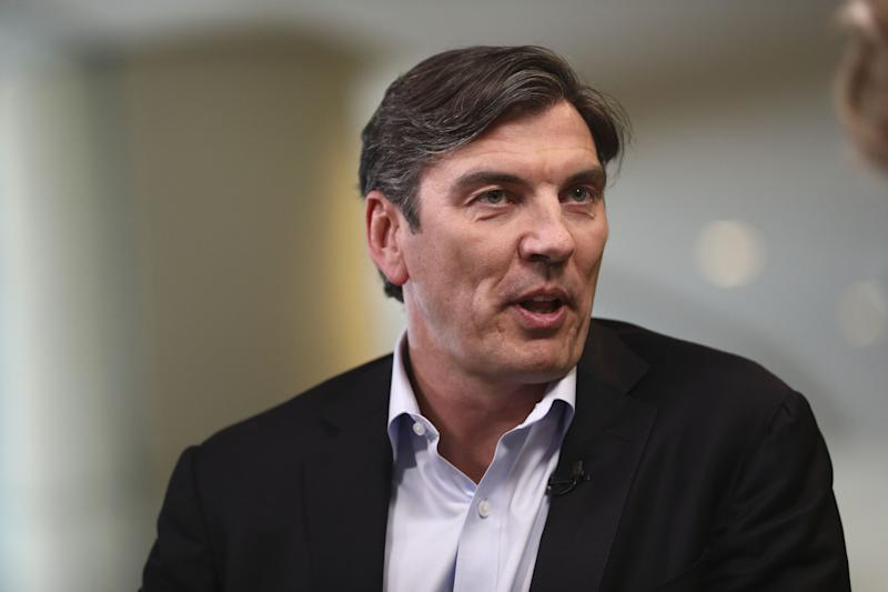 Tim Armstrong (above) will be replaced as head of Oath by Guru Gowrappan on Oct. 1. (Photo: Bloomberg via Getty Images)