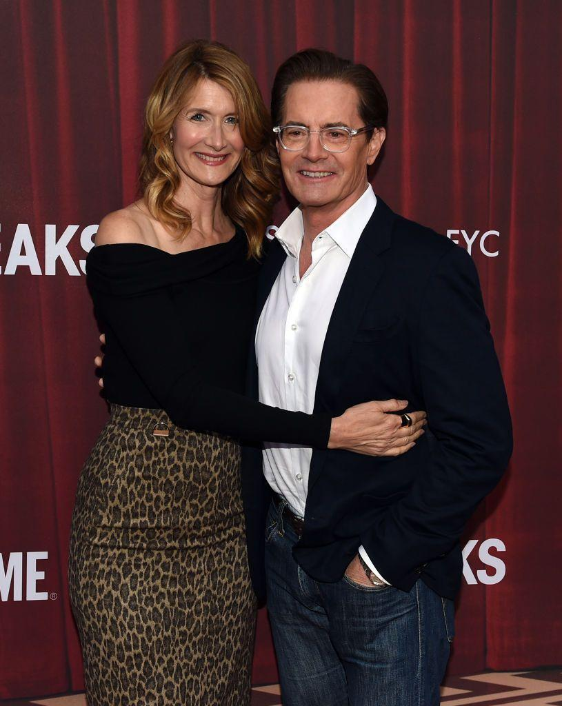 <p>After meeting on the set of <em>Blue Velvet</em> in 1985, Dern and MacLachlan dated for four years. While their off-screen relationship is now strictly platonic—the <em>Twin Peaks </em>actor has been married to Desiree Gruber since 2002—the former co-stars were brought together for one more on-screen romance thanks to the <em>Twin Peaks </em>reunion<em>.</em></p>