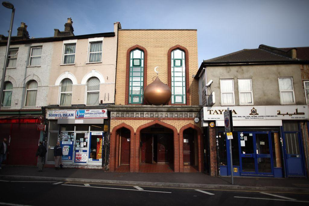 <p>LONDON, UNITED KINGDOM: A mosque in Leyton, London, England. </p>