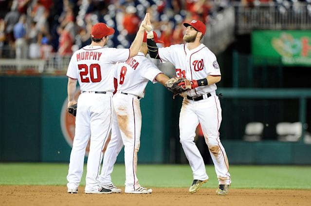 The Nationals play 16 of their last 25 games at home. (Getty)