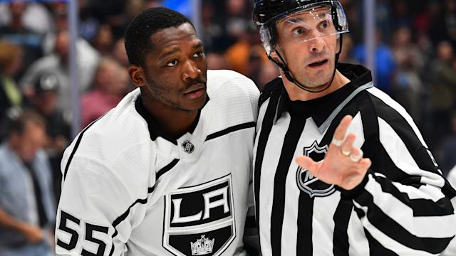 Bokondji Imama of the AHL's Ontario Reign fought Bakersfield Condors defenceman Brandon Manning a month after Manning insulted him using a racial slur.
