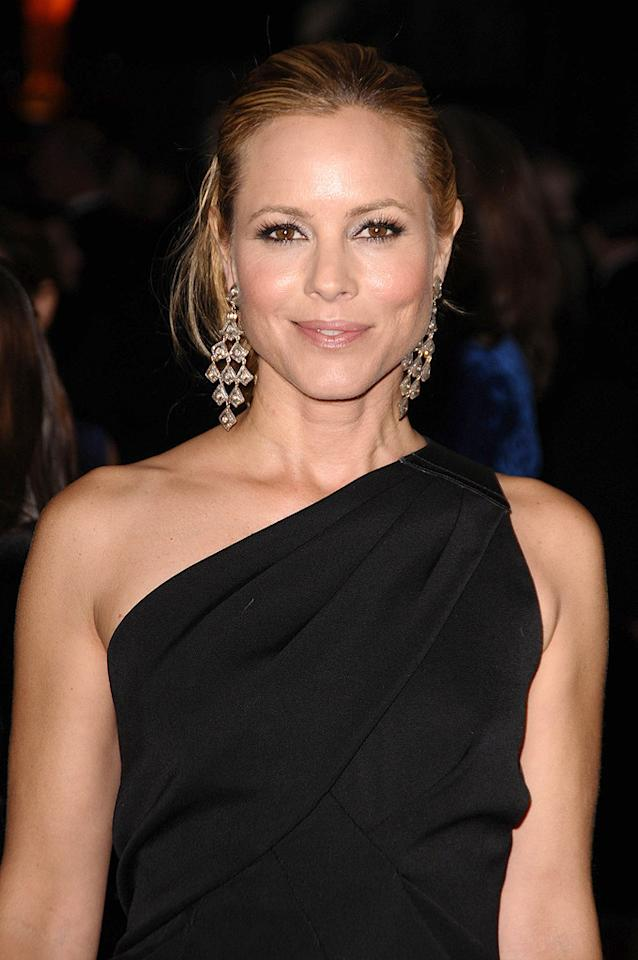 """<a href=""""http://movies.yahoo.com/movie/contributor/1800019251"""">Maria Bello</a> at the Academy of Motion Picture Arts and Sciences' Inaugural Governors Awards - 11/14/2009"""