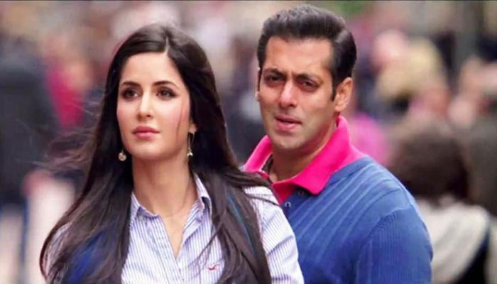 Salman Khan and Katrina Kaif: They too have broken up a long time back but they are working together and more importantly, Salman Khan is with his former lady love during all the difficult times.