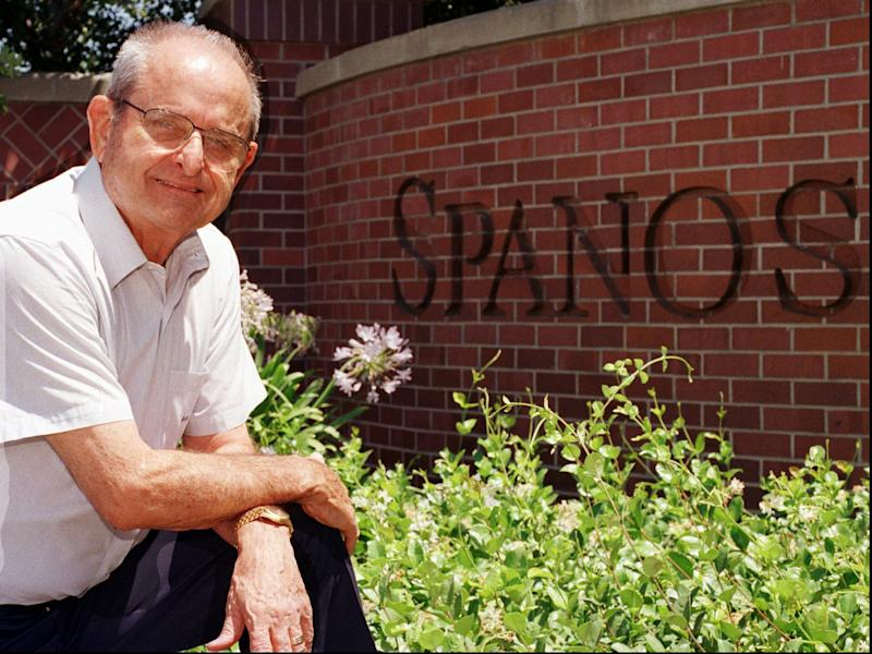 Alex Spanos, Cal Poly alum and Chargers owner, dies at 95