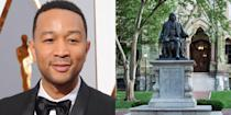 """<p><strong>University of Pennsylvania</strong></p><p>After succeeding in many areas in high school (he was student body president and prom king), Legend was offered admission to Harvard University and given scholarships to Georgetown University and Morehouse College. However, he decided to attend the University of Pennsylvania, where he studied English with an emphasis on African American literature. At college, Legend served as president and musical director of a co-ed jazz and pop a <span class=""""IL_AD"""">cappella group called """"Counterparts.""""</span></p>"""