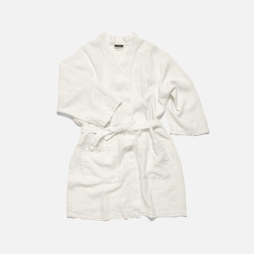 """<p>brooklinen.com</p><p><strong>$148.00</strong></p><p><a href=""""https://go.redirectingat.com?id=74968X1596630&url=https%3A%2F%2Fwww.brooklinen.com%2Fproducts%2Flinen-robe&sref=https%3A%2F%2Fwww.townandcountrymag.com%2Fstyle%2Fmens-fashion%2Fnews%2Fg2335%2Fbest-fathers-day-gifts%2F"""" rel=""""nofollow noopener"""" target=""""_blank"""" data-ylk=""""slk:Shop Now"""" class=""""link rapid-noclick-resp"""">Shop Now</a></p><p>Brooklinen's linen robe is perfect for the indulgent man in your life. The lightweight fabric is optimal for loafing, but he'll be doing so in style—and feel cool temperature-wise as well. </p>"""