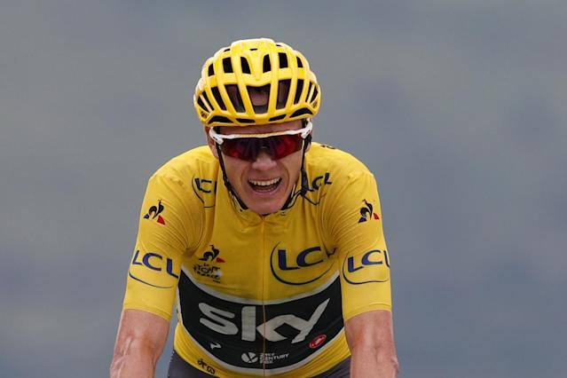 Chris Froome gewann 2017 die Tour de France