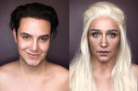 This man transforms himself into 'Game of Thrones' characters – Yas Khaleesi!
