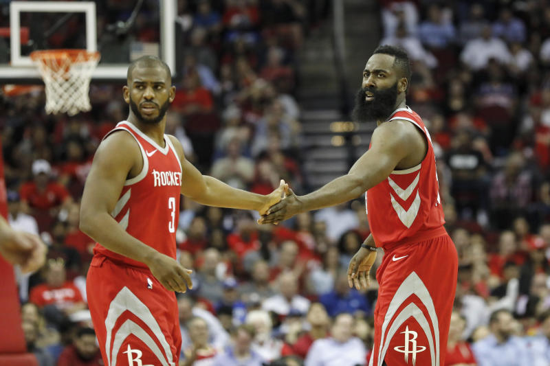 The Rockets may never land Chris Paul or James Harden if Paul is traded to the Lakers in 2011. (Tim Warner/Getty Images)