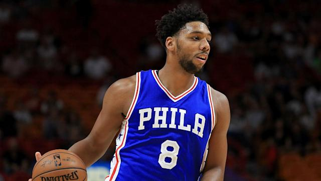 The Sixers will send Jahlil Okafor, Nik Stauskas and a second-round pick to the Nets in exchange for Trevor Booker.