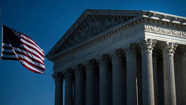 PHOTO: A view of the U.S. Supreme Court on Oct. 2, 2020, in Washington, D.C. (Brendan Smialowski/AFP via Getty Images)