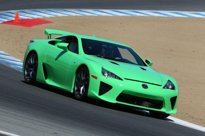 7 Green Supercars For St Patty S Day