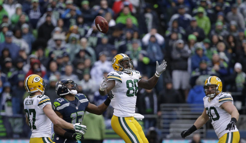 In 2015, the NFC title game swung on an onside kick that went in Seattle's favor against Green Bay. (AP)