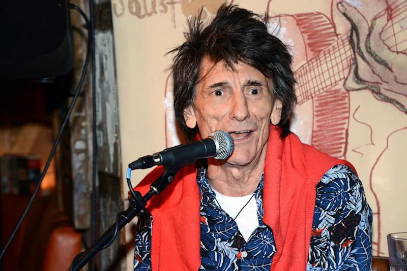 LONDON, ENGLAND - OCTOBER 30: Ronnie Wood attends his 'Confessin' The Blues' launch event at The Blues Kitchen on October 30, 2018 in London, United Kingdom. (Photo by Dave J Hogan/Dave J Hogan/Getty Images)