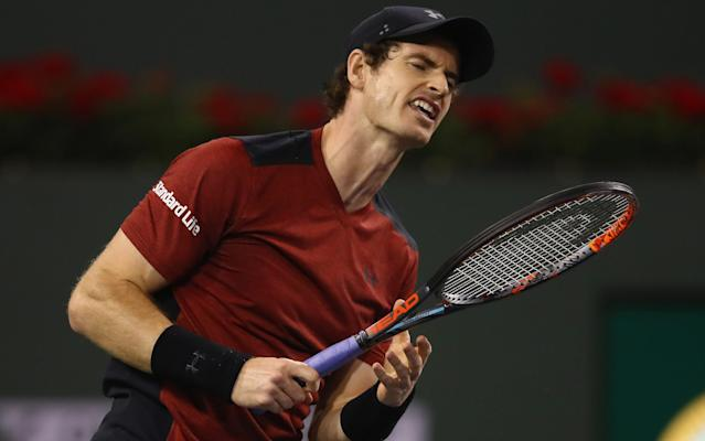 <span>Andy Murray went out in the second round of Indian Wells last weekend</span>