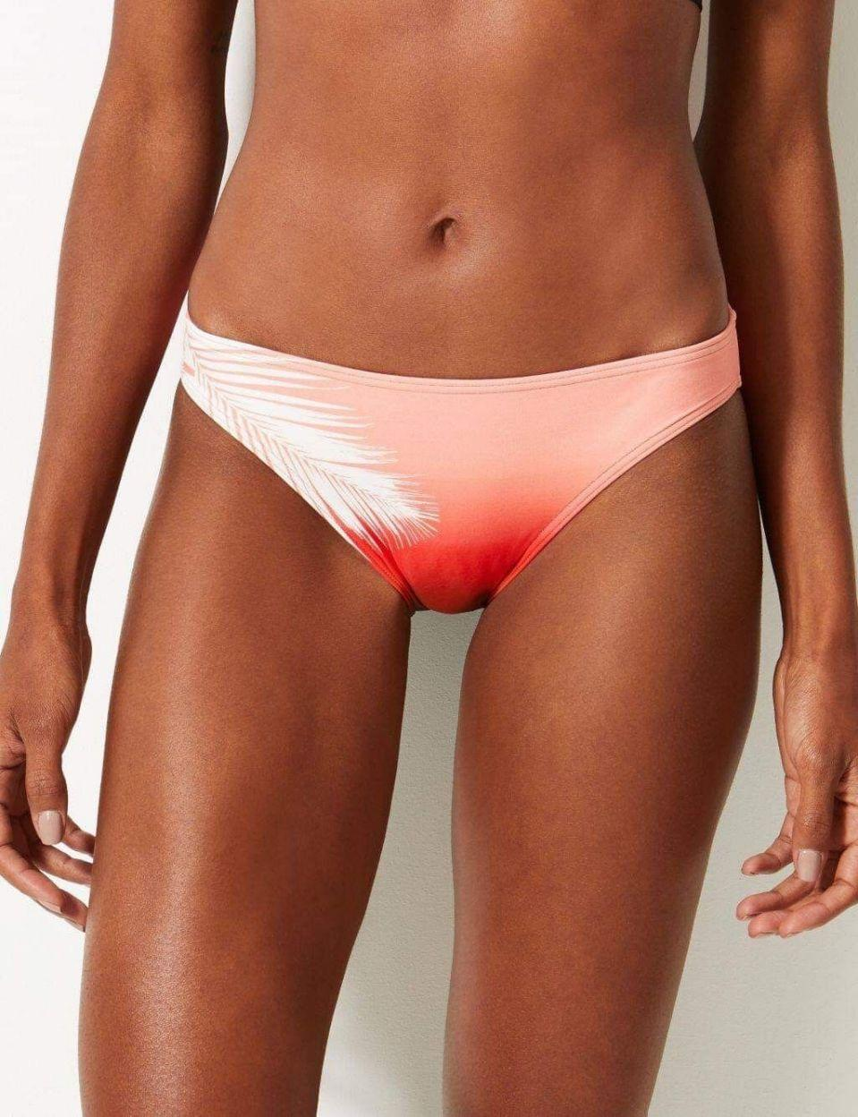Marks & Spencer swimmer bottoms ombre colour looks like period stain