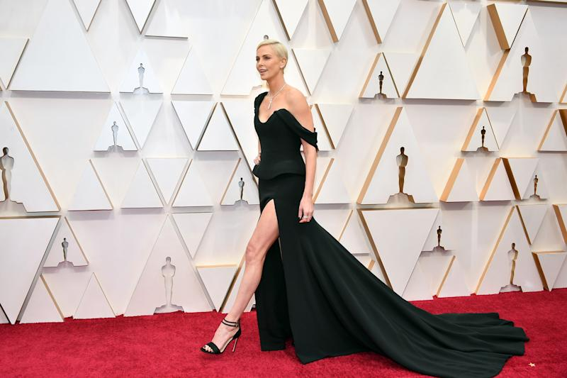 HOLLYWOOD, CALIFORNIA - FEBRUARY 09: Charlize Theron attends the 92nd Annual Academy Awards at Hollywood and Highland on February 09, 2020 in Hollywood, California. (Photo by Amy Sussman/Getty Images)