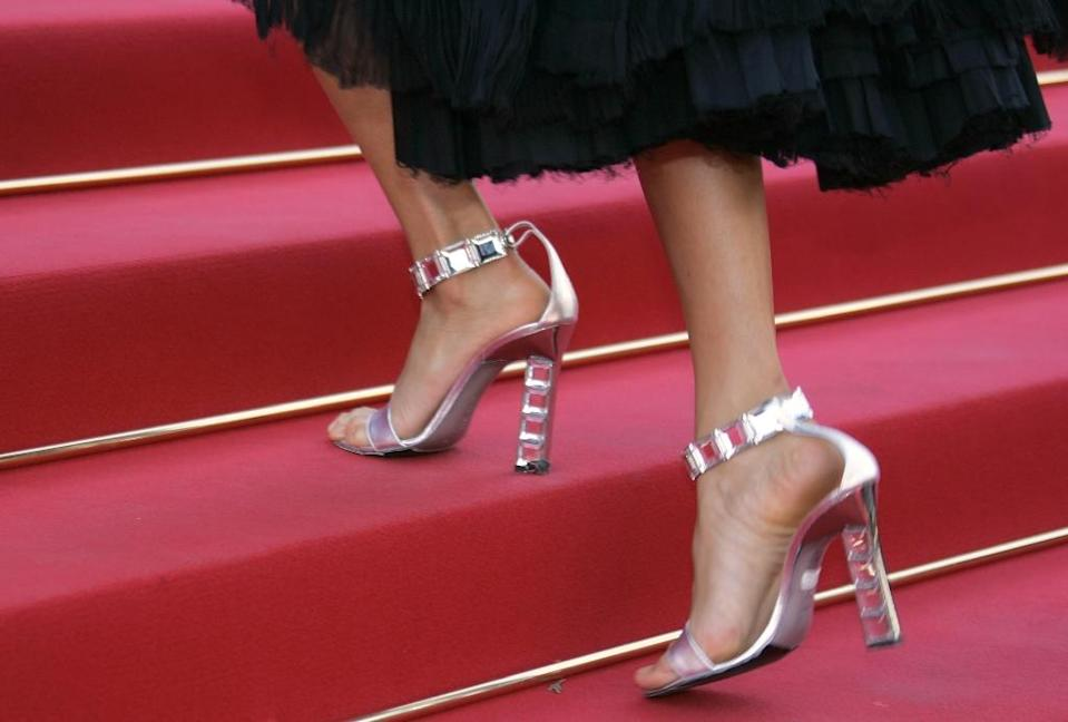 The director of the Cannes Film Festival has apologised after a controversy blew up over women being denied access to the red carpet for not wearing high heels (AFP Photo/Gerard Julien)