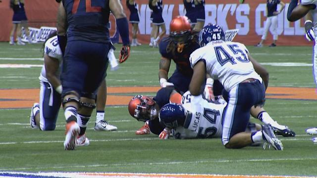 Syracuse QB Terrel Hunt won't face further punishment after throwing a punch against Villanova
