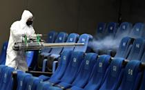 Theaters have undergone deep cleaning at the Cineteca Nacional in Mexico City