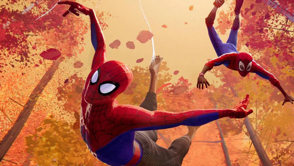 'Spider-Man: Into the Spider-Verse'. (Credit: Sony)