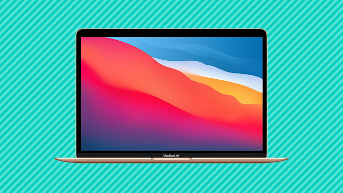 The newest Apple MacBook Air (yeah, the one with the M1 chip) is $100 off! (Photo: Amazon)