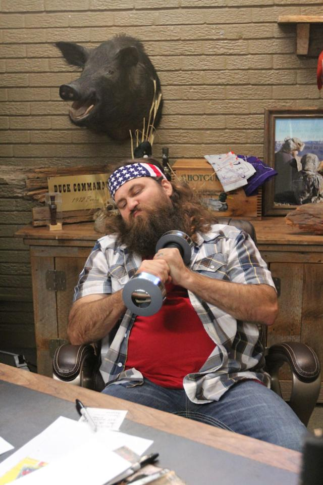 """Willie Robertson in the """"Duck Dynasty"""" Season 3 episode, """"Can't Hardly Weight."""""""