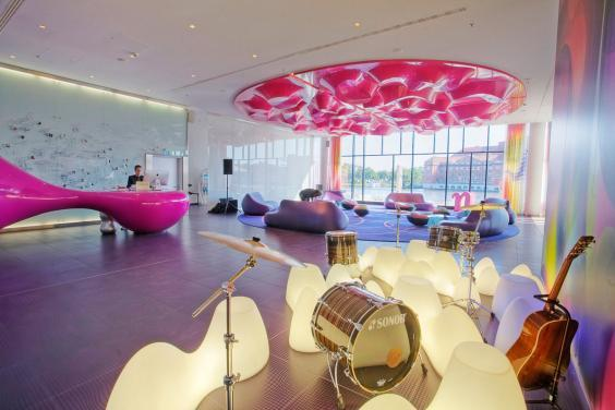 The colourful interior of nhow Berlin is as bright as the city itself (nhow Berlin)