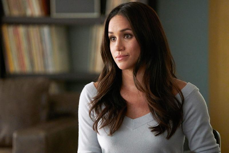 """Before she was the Duchess of Sussex, Meghan Markle made a name for herself through acting. She got her big break on the TV show """"Suits,"""" where she played Rachel Zane, from 2011-2017."""