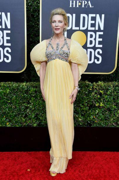 PHOTO: Cate Blanchett attends the 77th Annual Golden Globe Awards at The Beverly Hilton Hotel on Jan. 05, 2020, in Beverly Hills, Calif. (Frazer Harrison/Getty Images)