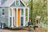 """<p>With authentic country character and hand-crafted, farmhouse-inspired details, <a href=""""http://www.tinyheirloom.com/"""" rel=""""nofollow noopener"""" target=""""_blank"""" data-ylk=""""slk:Tiny Heirloom Homes"""" class=""""link rapid-noclick-resp"""">Tiny Heirloom Homes</a> makes it easy to downsize and upgrade at the same time. This 192-square-foot luxury farmhouse is outfitted with a sleeping loft, kitchen, bathroom, living space, and even a laundry machine. The base model, similar to the one shown here, starts at $65,000 and includes delivery plus a one-time trip out to the company's Oregon City headquarters to see its construction. </p><p><a class=""""link rapid-noclick-resp"""" href=""""https://www.countryliving.com/home-design/house-tours/g108/tiny-heirloom-homes/"""" rel=""""nofollow noopener"""" target=""""_blank"""" data-ylk=""""slk:SEE INSIDE"""">SEE INSIDE</a></p>"""
