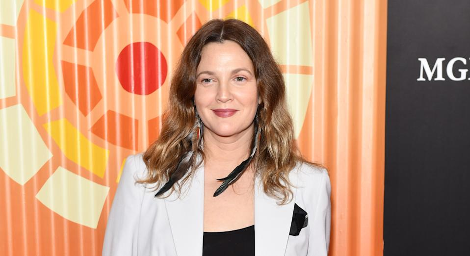 """Drew Barrymore has been opting for a more """"drama-free"""" beauty regime (Getty Images)"""