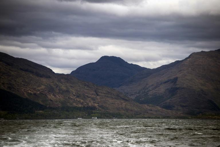 Houses on the edge of Loch Nevis near Inverie, whose remoteness renders the pub a community focal point