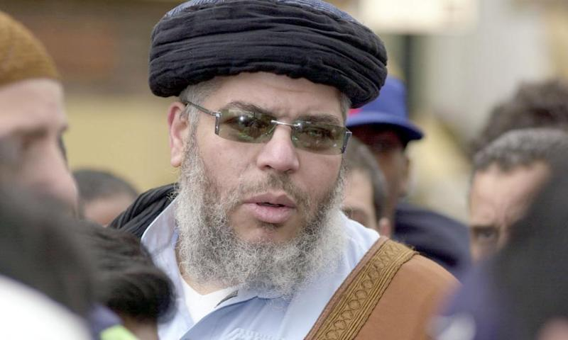 Sufiyan Mustafa is the son of Abu Hamza, pictured.
