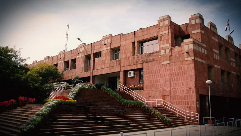 JNU students booked for