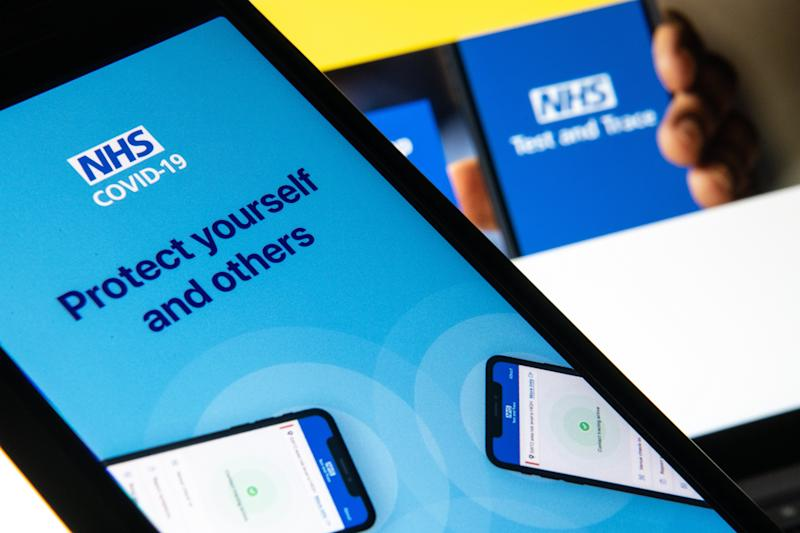 The NHS app is out now (Getty Images)