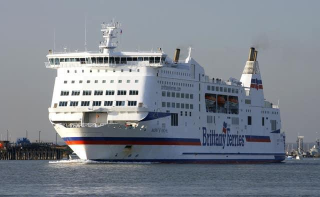 Brittany Ferries' Mont St Michel (Chris Ison/PA)