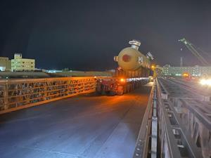 Mabey's Compact 200 bridges support Bapco construction project in Bahrain