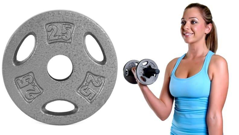 Add grip plates to your weighted bar or use them on their own.
