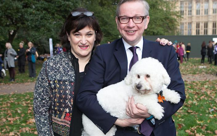 """Friends of Mr Gove and Ms Vine insisted that nobody else was involved in the split and the couple had simply """"drifted apart"""". - Daniel Leal-Olivas / i-Images"""